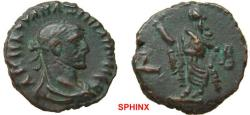 Ancient Coins - 787HM3) EGYPT, Alexandria. Maximianus. First reign, AD 286-305. BI Tetradrachm (20 mm, 8.04 g, 12h). Dated RY 2 (AD 286/7). Laureate, draped, and cuirassed bust right / Elpis stand