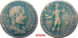 Ancient Coins - 409FFAK19) Very rare.**** AEOLIS Aegae Trajan Decius AD 249-251. Medaillon (AE; 36-38mm; 38.90g; 12h) AVT K Γ MEC KVIN TPAIANOC ΔEKI / OC   Laureate, draped and cuirassed bust