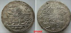 Ancient Coins - 630EG18) OTTOMAN EMPIRE, Sultan Selim III, 1203-1222 AH / 1789-1807 AD, AR 2 Kurush (2 piasters), 43 mm Diameter, 31.95 grms weight, dually dated accession year 1203 and reignal ye