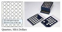 Ancient Coins - Nova Coin Tray - Stackable - 35 compartments