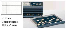 Ancient Coins - Stackable Coin Drawer - 12 Flat Compartments