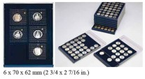 Ancient Coins - Nova Coin Tray - Stackable - 6 compartments