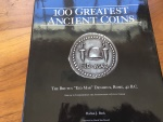 "100 GREATEST ANCIENT COINS by HARLAN BERK 2008 ""Signed by Harlan"" Hardback/jacket 131 pages Very good"