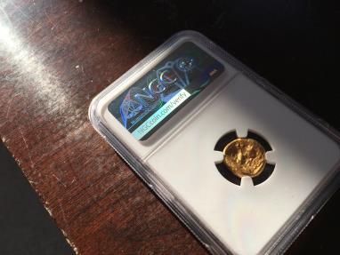 Ancient Coins - ACHAEMENID EMPIRE, ARTAXERXES II - DARIUS III, 375-336 BC. (AV Daric  8.36g 15mm) [NGC CHOICE AU 4/5-3/5]