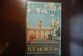 Ancient Coins - A TRAVELER IN ROME BY H.V. MORTON 1959 [432 PAGES] HARDBACK/DUST JACKET, VERY GOOD CONDITION.  A CLASSIC!