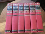 "ABRAHAM LINCOLN by CARL SANDBURG, 6 VOLUMES 1940 ""SANGAMON EDITION"" SCRIBNERS Very Good"