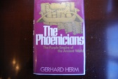 Ancient Coins - THE PHOENICIANS; THE PURPLE EMPIRE OF THE ANCIENT WORLD BY GERHARD HERM (1975 1ST EDITION) HARDCOVER/DUST JACKET [288 PAGES]  VERY GOOD
