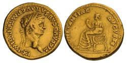 Ancient Coins - CLAUDIUS, 41-54 AD. (AV Aureus 7.85g  19mm) Lugdunum Mint 46-7 AD.  Very Fine