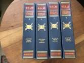 """Ancient Coins - ROBERT E. LEE by DOUGLAS SOUTHALL FREEMAN, 4 VOLUMES 1948 """"PULITZER PRIZE EDITION"""" , SCRIBNERS"""