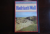 Ancient Coins - HADRIAN'S WALL BY STEPHEN JOHNSON (1989 1ST EDITION, LONDON) [144 PAGES] HARDBACK/DUST JACKET