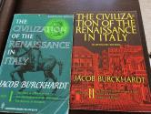 Ancient Coins - THE CIVILIZATION OF THE RENAISSANCE IN ITALY by JACOB BURCKHARDT first published in U.S. 1929 Volumes I & II.