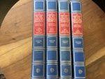 A HISTORY OF THE ENGLISH SPEAKING PEOPLES by WINSTON CHURCHILL, 4 VOLUMES, 1ST EDITION 1956 CHARTWELL EDITION Very Good