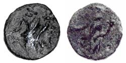 Ancient Coins - Greece, Uncertain City. 2nd-3rd Century AD, AE 17, VF