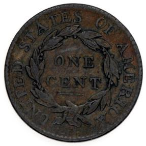 US Coins - US, Coronet Type, Large Cent, 1819, XF+XF