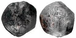 Ancient Coins - Byzantine, Andronikos II, 1282-1328 AD, AE Trachy, SR 2384,