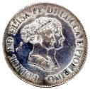 World Coins - Italy, Lucca, Duchy 1805, 5 Franchi, Cr. 24.1, Dav. 203, XF