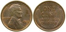 Us Coins - UNITED STATES, 1914 Lincoln Cent, AU.
