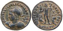 Ancient Coins - LICINIUS II, Caesar AD 317-324, AE3 (12½ d.c.), Jupiter, Antioch, RIC 36 (R3).