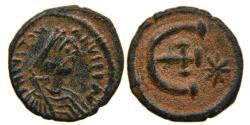 Ancient Coins - BYZANTINE, JUSTINIAN I, AD 527-565, AE Pentanummium, Antioch. Choice.