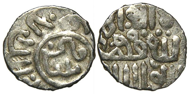 World Coins - ISLAMIC, MAMLUKS, Qa'itbay, 1468-1496, AR Dirham, Halab Type, Turcoman Kufic.