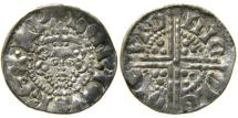 World Coins - ENGLAND, Henry III, 1216-1272, AR Penny, Class 3bc, London, Nicole.