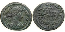 Ancient Coins - CONSTANTIUS II, 337-361, AE2, FEL TEMP REPARATIO, Galley, Rome, RIC 148.