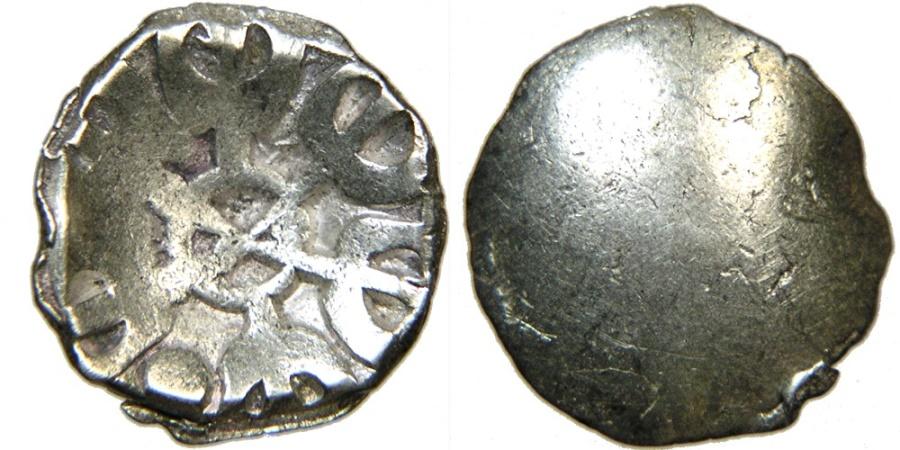 Ancient Coins - INDIA, Gandhara, c. 6th-5th Century BC, AR Shana, Taxila. Achaemenid Period.