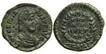 Ancient Coins - GRATIAN, AD 367-383, AE4, Siscia, Vota. Choice.