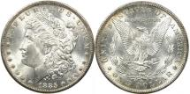 Us Coins - UNITED STATES, 1885-O Morgan Dollar, VAM-2, Toned MS62.