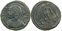 Ancient Coins - CONSTANTINOPOLIS, City Commemorative, AE3, c. AD 330-335, Siscia.