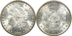 Us Coins - UNITED STATES, 1885-O Morgan Dollar, VAM-2, Toned MS62.