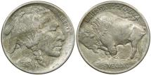 Us Coins - UNITED STATES, Buffalo Nickel, 1913 Type I, EF.