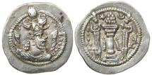 Ancient Coins - PERSIA, SASANIAN, Peroz I, AD 459-484, AR Drachm, ST Mint.