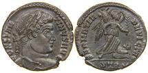 "Ancient Coins - CONSTANTINE I, ""The Great"", AD 307-337, AE3, SARMATIA DEVICTA, Treveri, RIC 435."