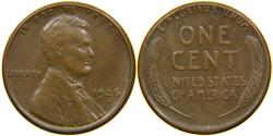 Us Coins - UNITED STATES, 1926-S Lincoln Cent, VF.