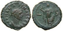 Ancient Coins - EGYPT, ALEXANDRIA, Carinus, AD 283-284, Billon Tetradrachm, Elpis (Spes). Nice.