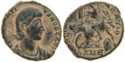 Ancient Coins - CONSTANTIUS GALLUS, AD 351-354, AE2, FTR Fallen Horseman, Antioch, RIC 139.
