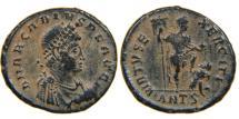 Ancient Coins - ARCADIUS, AD 383-408, AE2, VIRTVS EXERCITI, Antioch. RIC 63(e).