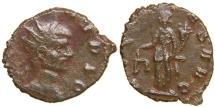 Ancient Coins - DIVUS CLAUDIUS II GOTHICUS, d. AD 270, Hybrid AE Antoninianus, Aequitas. Ex Johannessen/ Mairat.