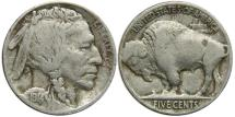 Us Coins - UNITED STATES, Buffalo Nickel, 1914, Fine.