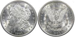 Us Coins - UNITED STATES, 1921 Morgan Silver Dollar. Brilliant Uncirculated.