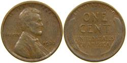 Us Coins - UNITED STATES, 1922-D Lincoln Cent, VF.