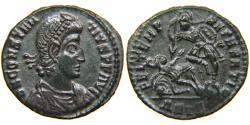 Ancient Coins - CONSTANTIUS II, AD 337-361, AE3, FTR Fallen Horseman, Siscia, RIC 352/361.