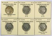 Us Coins - UNITED STATES, Lot of 6 Better Date Buffalo Nickels.