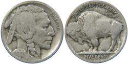 Us Coins - UNITED STATES, Buffalo Nickel, 1917, Fine.