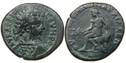 Ancient Coins - THRACE, ANCHIALUS, Septimius Severus, AD 193-211, AE 29mm, Hermes.