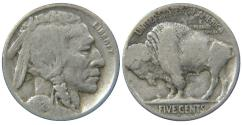 Us Coins - UNITED STATES, Buffalo Nickel, 1924-D, VG.