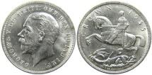 World Coins - GREAT BRITAIN, George V, 1910-1936, AR Jubilee Crown, 1935, Choice BU.