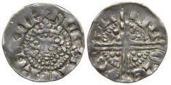 World Coins - ENGLAND, Henry III, 1216-1272, AR Penny, Class 3b, Canterbury, Nicole.
