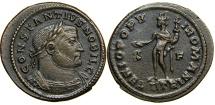 Ancient Coins - CONSTANTIUS I, Caesar AD 293-305, AE Follis, Trier.